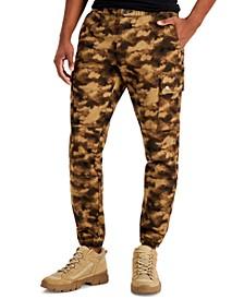 INC Men's Cloud Print Utility Pants, Created for Macy's
