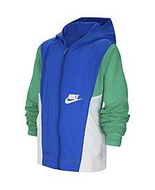 Big Boys Sportswear Woven Jacket