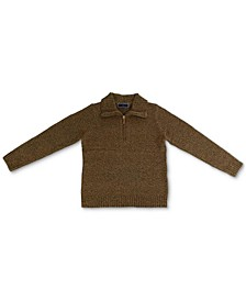 Zippered-Neck Sweater, Created for Macy's