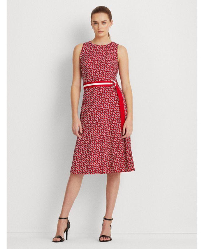 Lauren Ralph Lauren - Print Jersey Dress