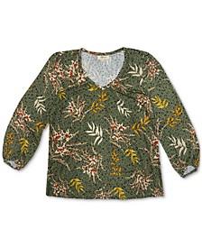 Printed Long-Sleeve Top, Created for Macy's