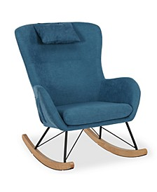 Bodhi Rocker Chair with Storage Pockets