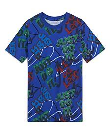 Big Boys Sportswear Printed T-shirt