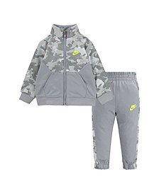 Toddler Boys Camo 2-Piece Tracksuit Set