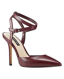 Brya Women's Ankle Strap Pumps