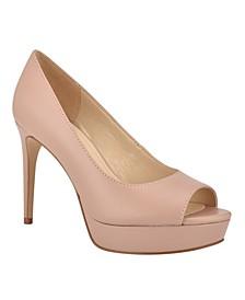Elyse Women's Peep Toe Platform Dress Sandals