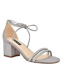 Keiko Women's Ankle Tie Dress Sandals