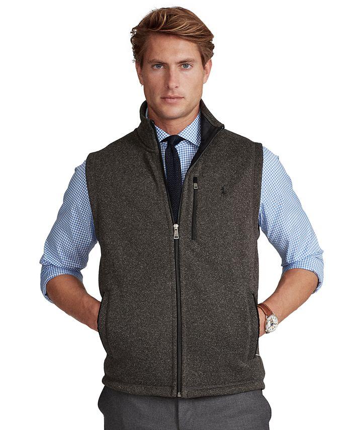 Polo Ralph Lauren - Men's Fleece Mock-Neck Vest