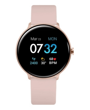 Sport 3 Women's Touchscreen Smartwatch: Rose Gold Case with Blush Strap 45mm