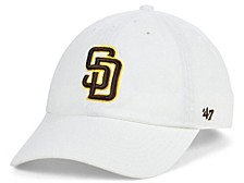 San Diego Padres White CLEAN UP Cap
