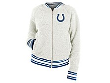 Indianapolis Colts Women's Sherpa Bomber Jacket