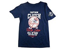 Youth New York Yankees Captain Clutch T-Shirt - Derek Jeter