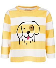 Baby Boys Doggie Cotton T-Shirt, Created for Macy's