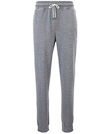 Hugo Boss Men's Mélange Logo Embroidered Track Pants