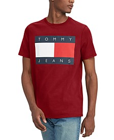 Tommy Hilfiger Men's Big & Tall Flag T-Shirt