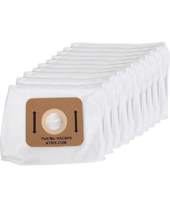 Atrix - Ergo Lite Hip Vacuum Replacement HEPA Filter Bags - 10 pack