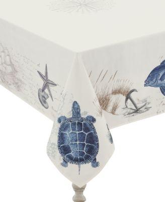 Seaside Postcard Tablecloth -  70