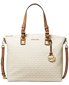 Karla Large Signature Multi-function Tote