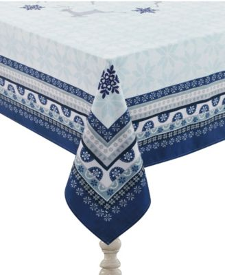 """Simply Winter Tablecloth - 70"""" x 84"""""""