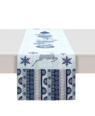 """Simply Winter Table Runner - 13""""x 90"""""""