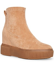 Women's Freshly Wedge Sock Booties