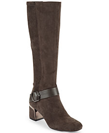 DKNY Caira Buckled Boots