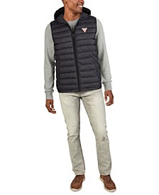 Men's Channel Quilt Puffer Vest Jacket
