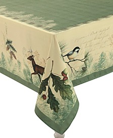 """Woodland Forest Tablecloth -70""""x 120"""""""