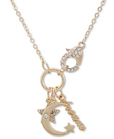 "Crystal Dream Multi-Charm 18"" Pendant Necklace"