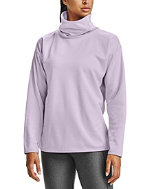 Women's Fleece Funnel-Neck Sweatshirt