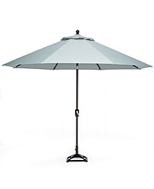 Stockholm  Outdoor 11' Umbrella  with Sunbrella® Fabric  and Base, Created for Macy's