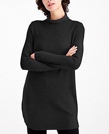 Turtleneck Tunic Sweater, Regular & Petite