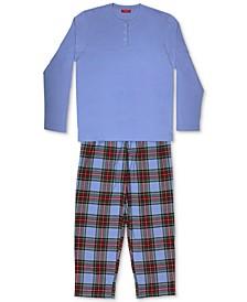 Matching Men's Mix It Tartan Family Pajama Set, Created for Macy's