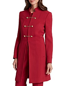 Stand-Collar Topper Jacket