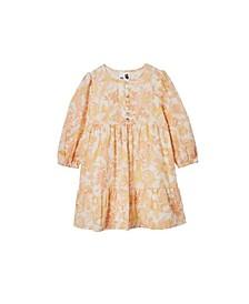Toddler Girl Evie Long Sleeve Dress