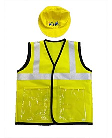 Busy Builders Construction Vest and Hat