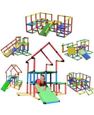 Funphix Jumbo Construction Toy Set, 467 Pieces