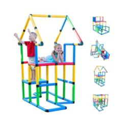 Funphix Create and Play Life Size Structures Deluxe Set, 296 Pieces
