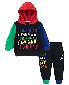 Baby Boys Fleece Hoodie and Joggers Set