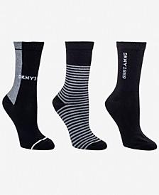 Women's 3-Pk. Super Soft Wide Rib Crew Socks