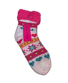 Women's Lined Short Lounge Sock