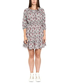 Paisley-Print Dress, Regular & Petite