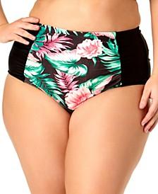 Size High-Waist Bikini Bottoms