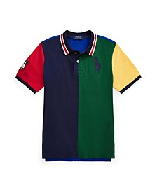 Little Boys Big Pony Mesh Polo Shirt