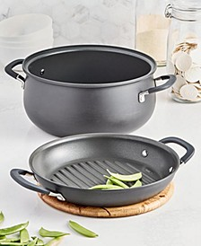 2-in-1 Nonstick Aluminum 7.5-Qt. Dutch Oven with Griddle Lid, Created for Macy's