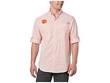 Clemson Tigers Men's Super Tamiami Long Sleeve Shirt