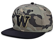 Washington Huskies Commander Snapback Cap