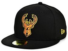 Milwaukee Bucks Round Ball 59FIFTY Cap