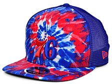 Philadelphia 76ers Tie Dye Mesh Back Cap