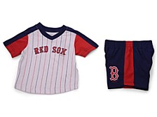 Boston Red Sox Toddler Lineup Short Set